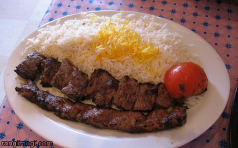 طرز تهیه انواع غذاهای خوشمزه شمالی (کته کباب)