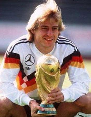 گل های یورگن کلینزمن بازیکن بزرگ دهه 90 آلمان