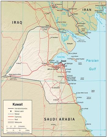 بحران 1961 در روابط عراق و کویت : کویت در حالت اضطراری