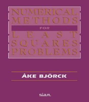 دانلود رایگان کتاب روش های عددی برای مسائل کمترین مربعات
