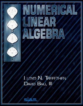 دانلود کتاب جبرخطی عددی (NUMERICAL LINEAR ALGEBRA)