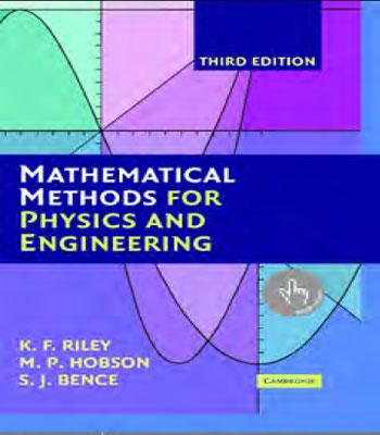 دانلود رایگان کتاب روش های ریاضی برای فیزیک و مهندسی