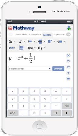 دانلود نرم افزار Mathway برای اندروید – نرم افزار حل مسائل ریاضی