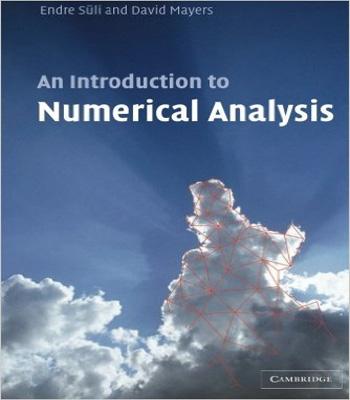 دانلود کتاب مقدماتی از آنالیز عددی نوشته اندره سولی و دیوید مایرس