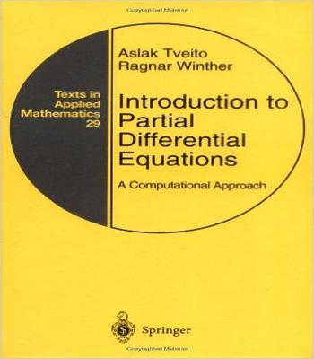 دانلود کتاب مقدمه ای از معادلات دیفرانسیل جزئی