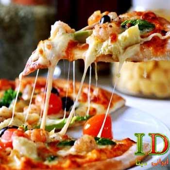 طرز تهیه پیتزا ایتالیایی با جزئیات کامل با گوشت چرخکرده