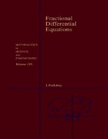 دانلود کتاب معادلات دیفرانسیل کسری نوشته پودلوبنی