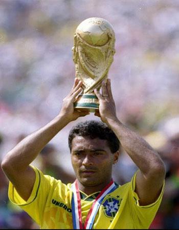 روماریو ستاره برزیل در جام جهانی 1994