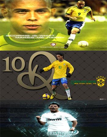 ronaldo,crc,dinho