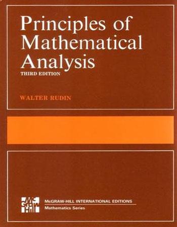 دانلود کتاب اصول آنالیز ریاضی رودین به زبان لاتین
