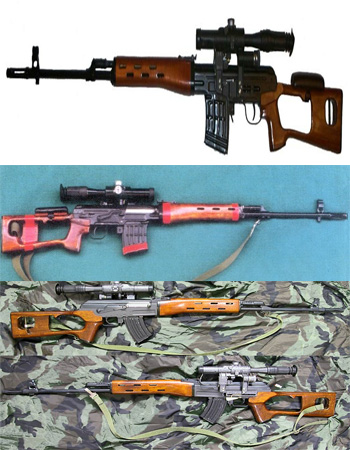 معرفی اسلحه S.V.D (دراگنوف-Dragunov)