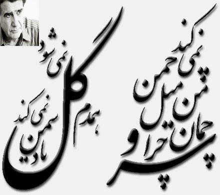 دانلود آهنگ« سرو چمان من چرا میل چمن نمی کند»از محمدرضا شجریان