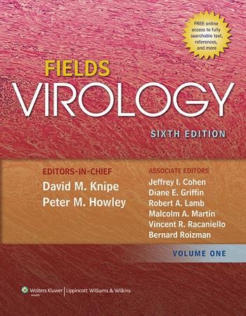 دانلود رایگان ویرایش جدید کتاب ویروس شناسی فیلدز (Fields Virology)
