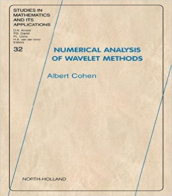 دانلود کتاب آنالیز عددی روش های موجک